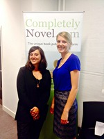 CompletelyNovel at Digital Women UK's Get Connected Conference by Adriana Bielkova