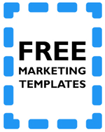 4 free templates to help you promote your book - part one (print) by Sarah Juckes